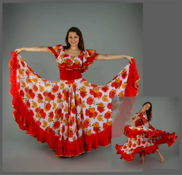 Как сделать цыганские костюмы своими руками