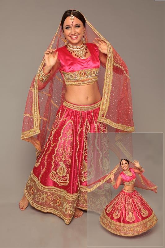 Индийские костюмы своими руками