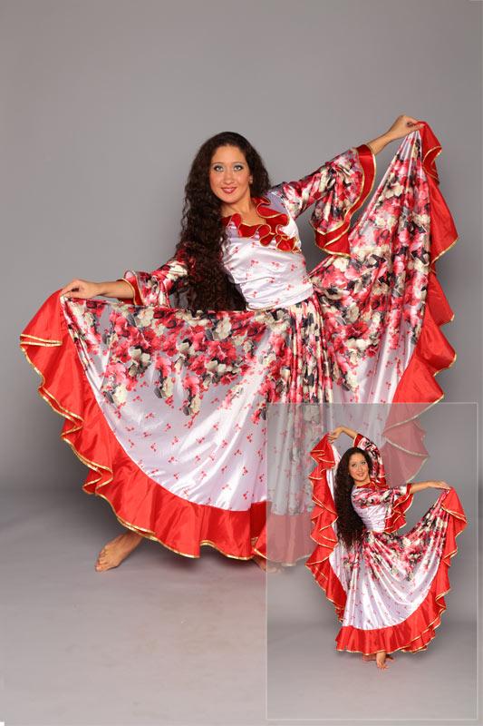 Фото костюм цыганки своими руками